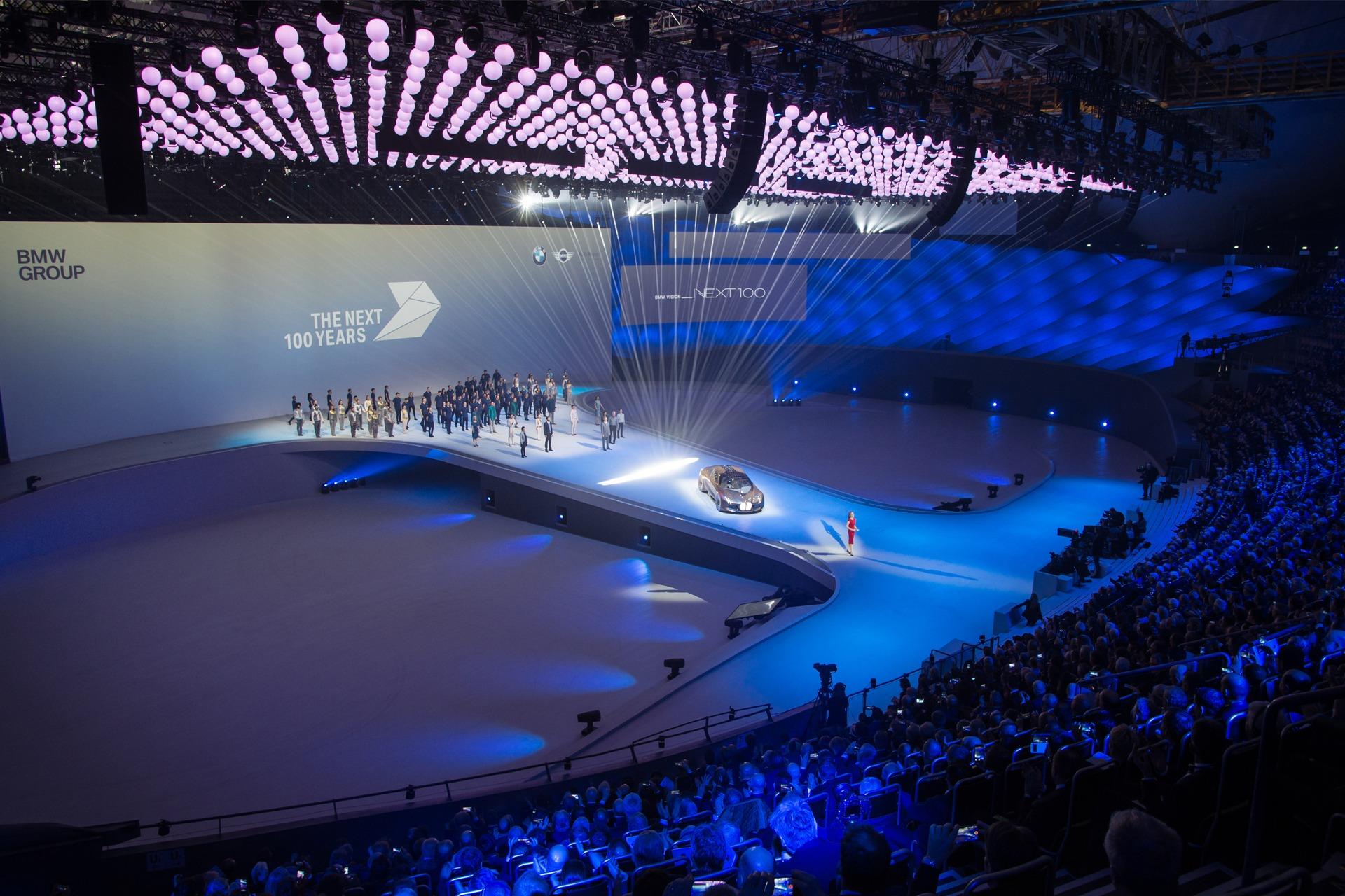 BMW 100 Years – Jubiläumsfeier Olympiahalle