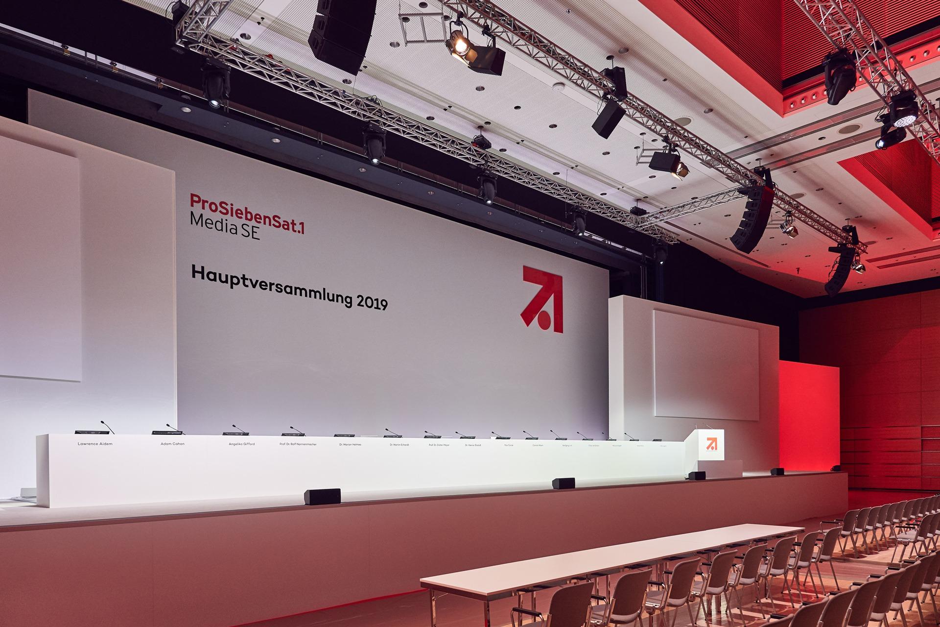 Read more about the article ProSiebenSat1 – Jahreshauptversammlung