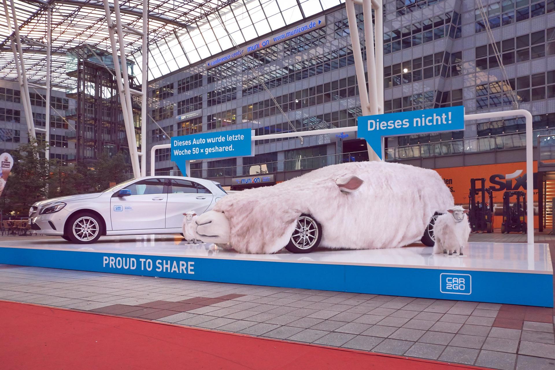 Car2Go Flughafenpromotion