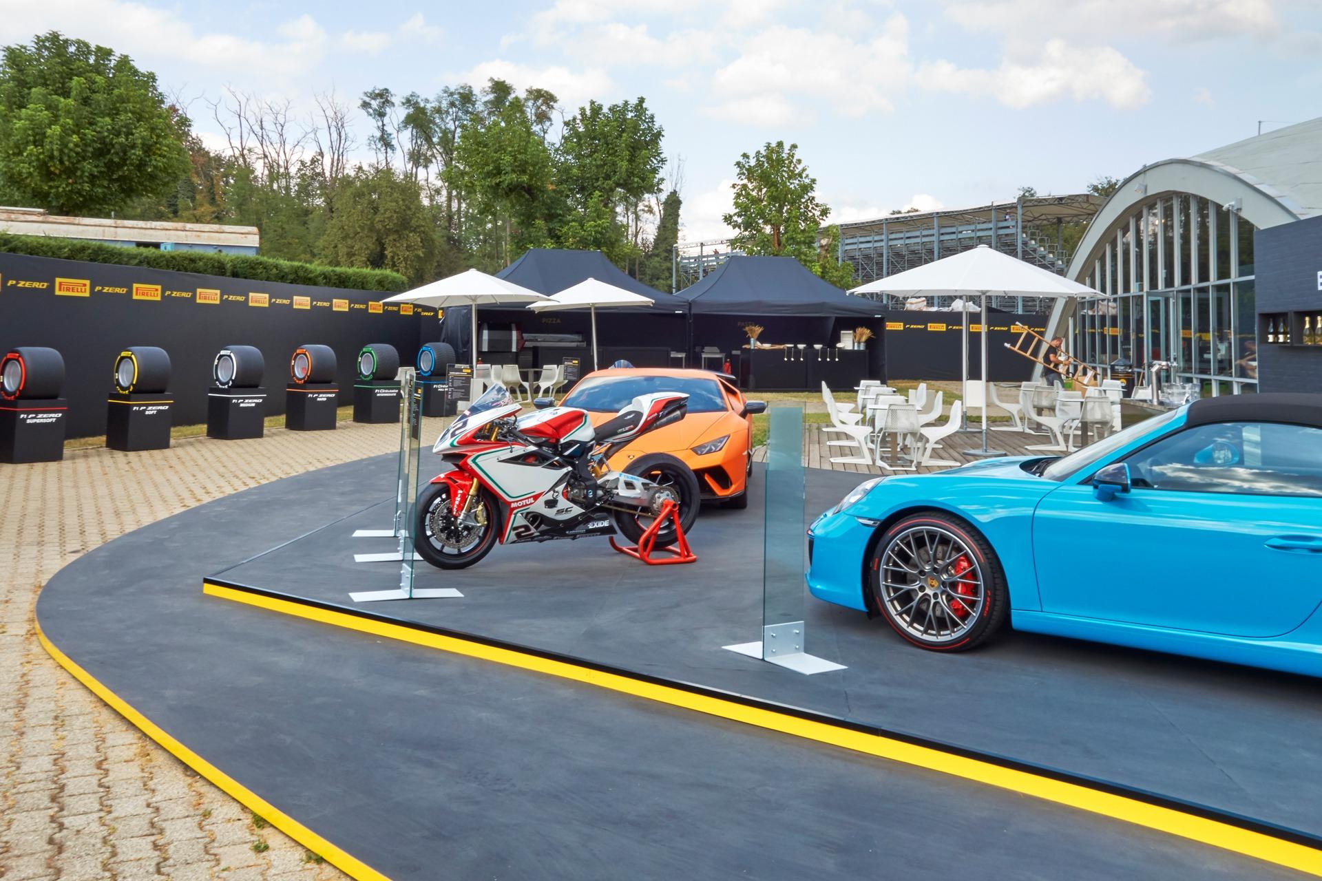 Pirelli Formel 1 Hospitality Monza
