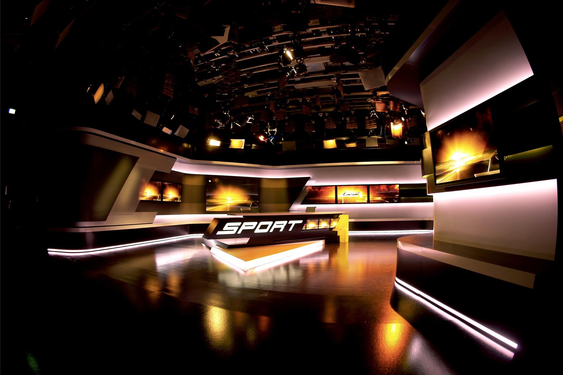 Sport 1 TV-Studio